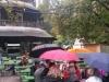 Regen im engl. Garten