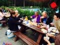 Picknick im Waldbad