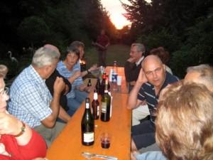 Grillabend bei Malou und Reinhard 2010