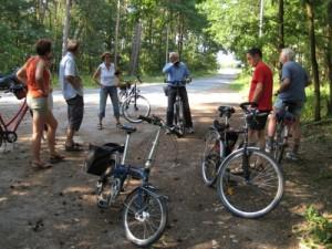 Treffpunkt zur Radtour nach Osterholz