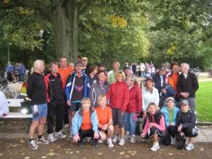 Teilnehmergruppe beim Venuslauf