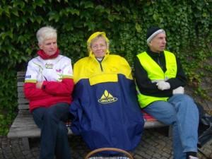 Karla, Marga und Kurt trotzen dem Wetter