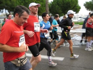 Harald in Antibes bei KM 21