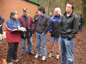 Zuverlässige Helfer und aktiver Läufer Rainer