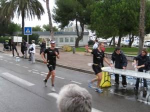 Horst und Olaf beim Halbmarathon