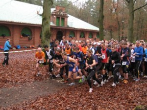 Start beim Waldkater-Crosslauf