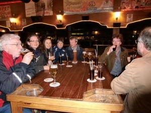 beim Bierkönig, auch lecker