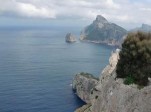 in Richtung Formentor