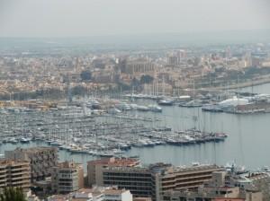 Palma...Blick vom Castell de Bellver