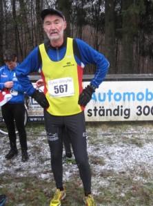 Auf einen Marathon außerhalb verzichtet, um am heimischen Country Cross teilzunehmen: Karl Wolfgang