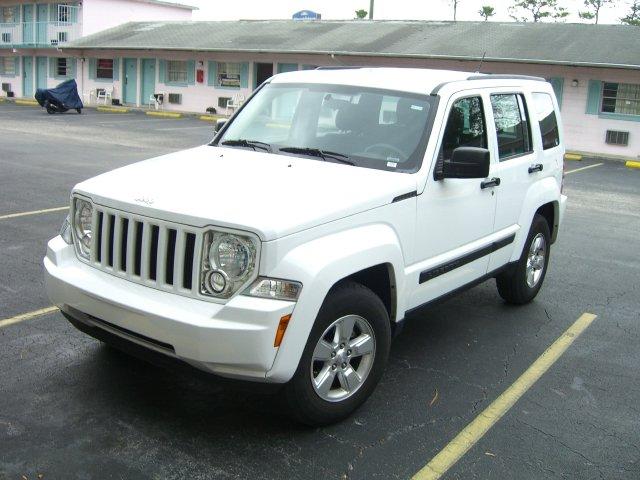 Mein Mietwagen, ein Jeep Liberty