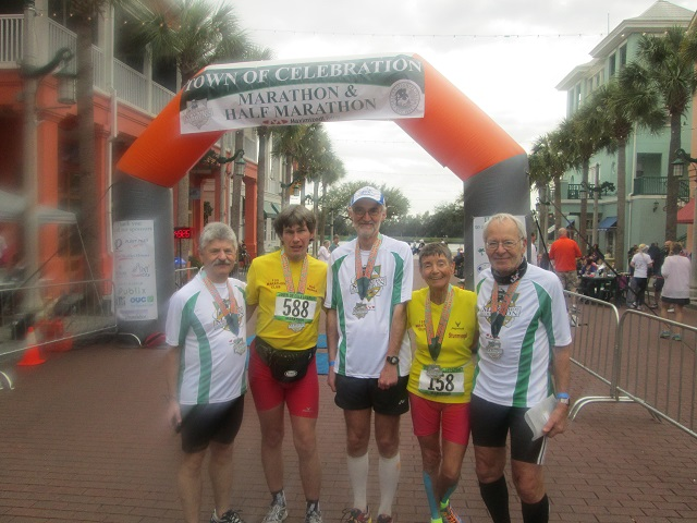 Das Zielfoto unserer Laufgruppe